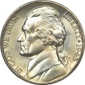 Jefferson Silver Nickel front view